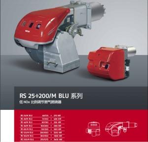 利雅路 RS/M BLU低氮燃烧器